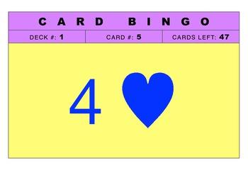 BINGO PLAYING CARDS-2