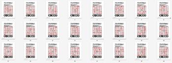 BINGO - POLYNOMIALS (Paper Version) + 24 BINGO MATS