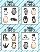 BINGO: Penguin with Clipart | 2x2