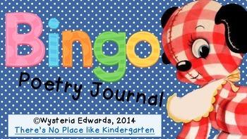BINGO Poetry Journal