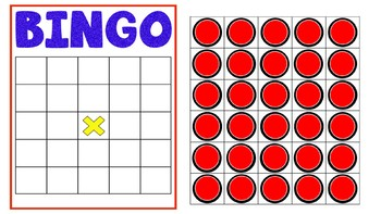 photo relating to Printable Bingo Chips identified as BINGO PowerPoint Video game Template