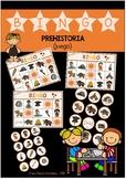 BINGO Prehistoria (juego) /  Prehistory Lottery-Bingo (game)