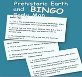 Prehistoric Earth and Early Man BINGO
