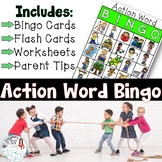 Speech BINGO: Present Tense Verb Endings