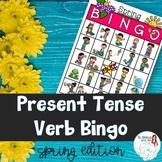 BINGO: Present Tense Verb Endings Spring Edition