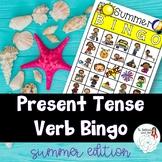 BINGO: Present Tense Verb Endings Summer Edition
