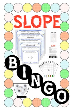 BINGO - SLOPE (Paper Version) + 24 BINGO MATS