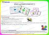 BINGO SPACE and SHAPE  Set 2