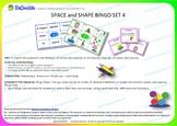 BINGO SPACE and SHAPE Set 4