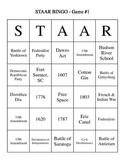 BINGO SS STAAR Review #1 - 30 BINGO Cards