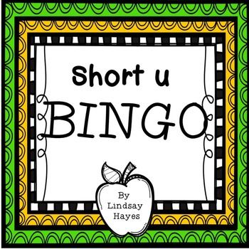 BINGO: Short u