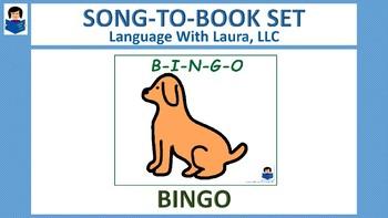 BINGO - Song Book [speech therapy and autsim]