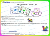 BINGO Space and Shape Set 1