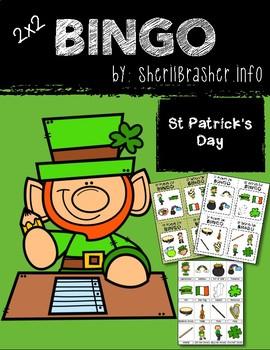 BINGO: St Patrick's Day with Clipart | 2x2
