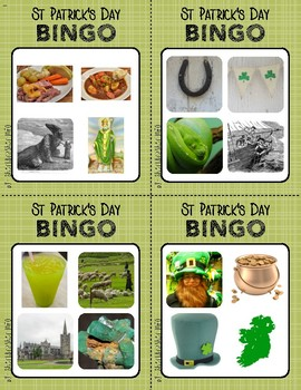 BINGO: St Patrick's Day with Real Images | 2x2