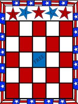 U.S. History Midterm, EOC, and Final Exam Review Game - Bingo