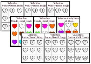 Valentine's Day: Bingo Games