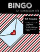 BINGO: Valentine's with Clipart   3x3