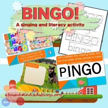 BINGO! (a singing & literacy activity)
