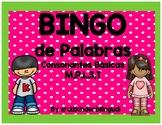 BINGO de PALABRAS ~ Consonantes básicas M,P,L,S,T