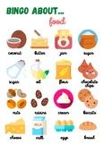 BINGO: food