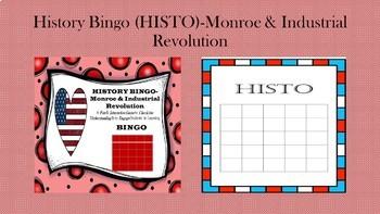 BINGO for History (HISTO)-James Monroe & Industrial Revolution