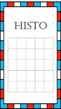 BINGO for History (HISTO)-Westward Expansion & Sectionalism