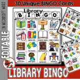 Library BINGO / Perfect for Library Rules