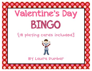 BINGO for Valentine's Day