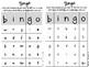 BINGO - single vowel and consonants