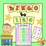 Bingo Numbers to 120