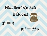 BINGO with Perfect Squares!