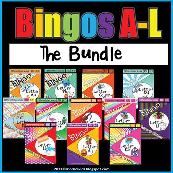 BINGOS A-L The Bundle