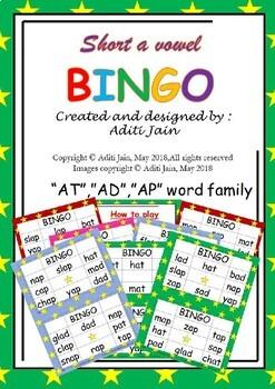 BINGO_Short a family set 1