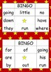 BINGO_sightword_set 2