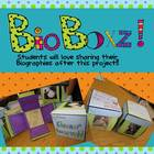 BIOBOXZ~ Biography Book Report Project and Kit