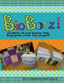 Exploding box BIOBOXZ~ Biography Book Report Project and Kit