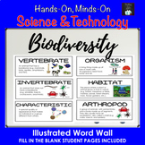 ONTARIO SCIENCE: GRADE 6 BIODIVERSITY ILLUSTRATED WORD WALL CARDS