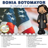 SONIA SOTOMAYOR IN SPANISH AND ENGLISH
