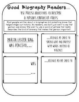 BIOGRAPHY UNIT GRAPHIC ORGANIZERS