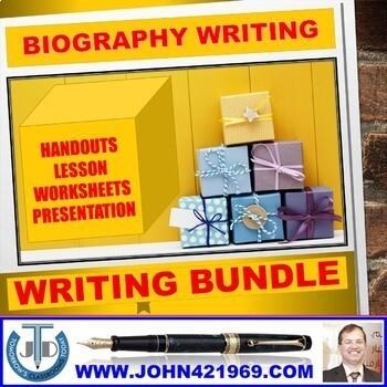 BIOGRAPHY WRITING: BUNDLE