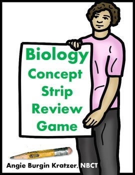 BIOLOGY Concept Strip Review Game
