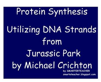 BIOLOGY - SMART Notebook - Protein Synthesis with Dino DNA