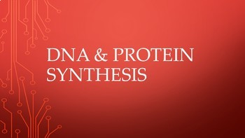 BIOLOGY UNIT: DNA & Protein Synthesis