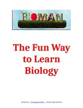 BIOMAN: The Fun Way to Learn Biology