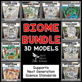 BIOME MODELS BUNDLE - 3D