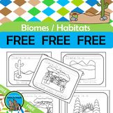 BIOMES Literacy Activity {Desert, Rainforest, Forest, Grassland & Tundra} FREE