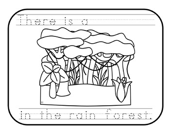 BIOMES Literacy Activity {Desert, Rainforest, Forest, Grassland & Tundra} FREE