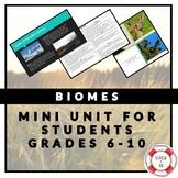 BIOMES MINI-UNIT