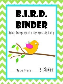 B.I.R.D. Binder Covers